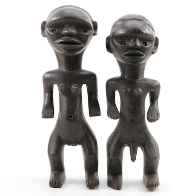 East African Style Male and Female Figures