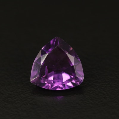 Loose 1.84 CT Trillion Faceted Amethyst
