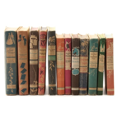 """Illustrated Children's Books Including """"The Jungle Book"""" and """"Black Beauty"""""""