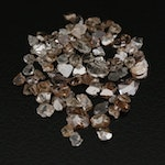 Loose 5.03 CTW Rough Diamonds