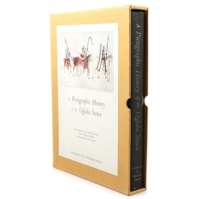"""A Pictographic History of the Oglala Sioux"" by Helen H. Blish, 1967"