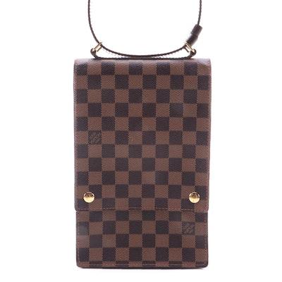 Louis Vuitton Portobello Messenger in Damier Ebene Canvas