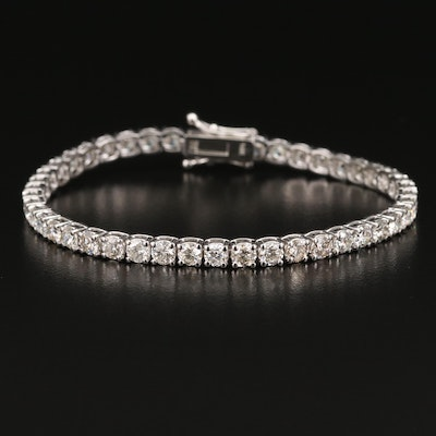 14K 7.93 CTW Diamond Tennis Bracelet
