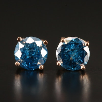 14K 0.83 CTW Diamond Stud Earrings