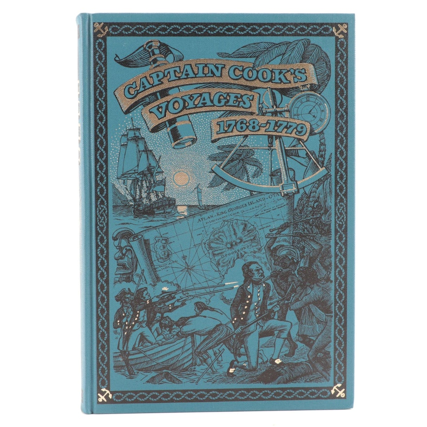 "Folio Society ""Captain Cook's Voyages"" Selected by Glyndwr Williams, 2001"
