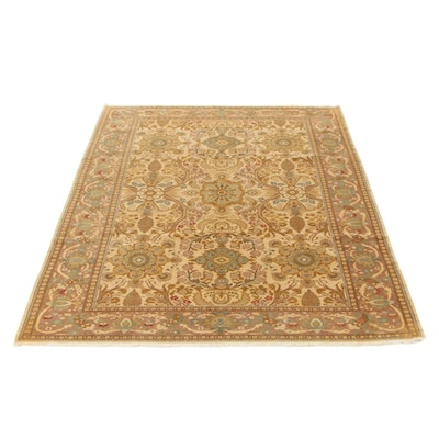 8'9 x 11'6 Hand-Knotted Pakistani Persian Ziegler Mahal Room Size Rug, 2000s