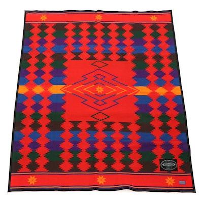 "Ramona Sakiestewa for Dewey Trading Company ""Chihuahua Trail"" Wool Blanket"