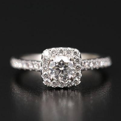 Tolkowski 14K 1.00 CTW Diamond Ring
