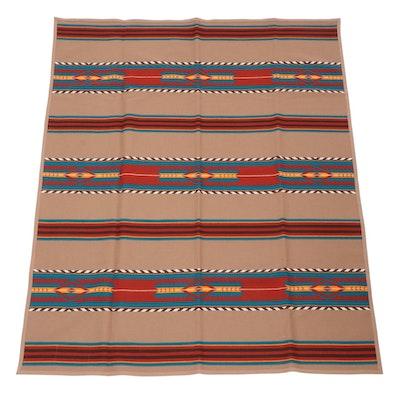 "Ramona Sakiestewa for Dewey Trading Company ""Santa Fe Trail"" Wool Blanket"