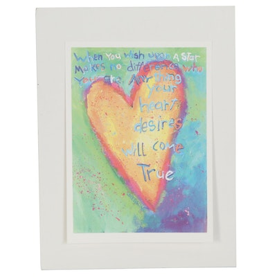"""Giclée after Leoma Lovegrove """"When You Wish Upon a Star"""""""