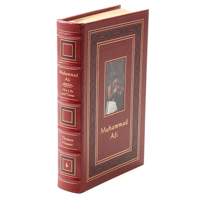 """Signed Collector's Edition  """"Muhammad Ali: His Life and Times"""" by Thomas Hauser"""