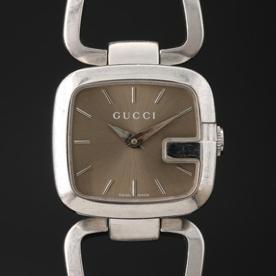 Gucci G-Gucci Stainless Steel Quartz Wristwatch