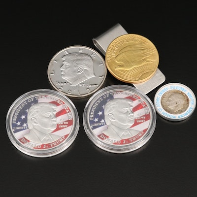 Group of Novelty Coins and Exonumia