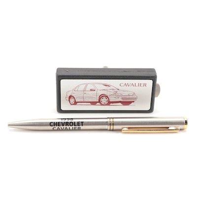 Zippo Salesman Sample Chevrolet Cavalier Pen and Multitool