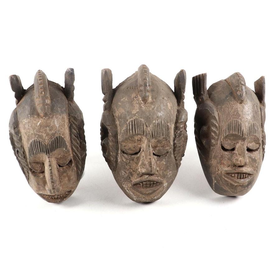 Ibibio-Igbo Style Wooden Mask, Nigeria