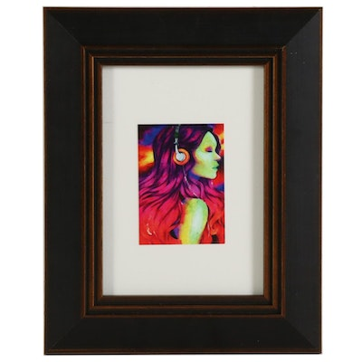 "William Rivera Giclée ""Gamora,"" 2021"