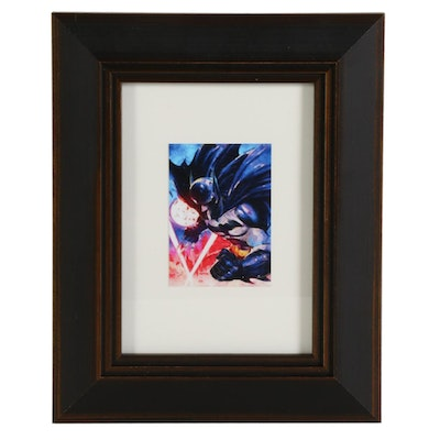 "William Rivera Giclée ""Batman,"" 2021"