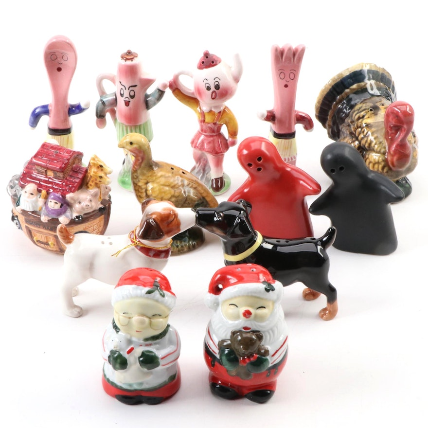 Westland, Napcoware and Other Salt and Pepper Shakers