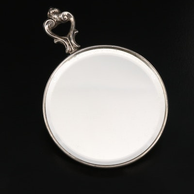 R. Blackington & Co. Sterling Silver Purse Mirror, Early to Mid-20th C.