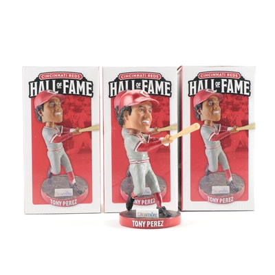 Dinsmore Tony Perez Cincinnati Reds Hall of Fame Bobblehead Dolls in Boxes