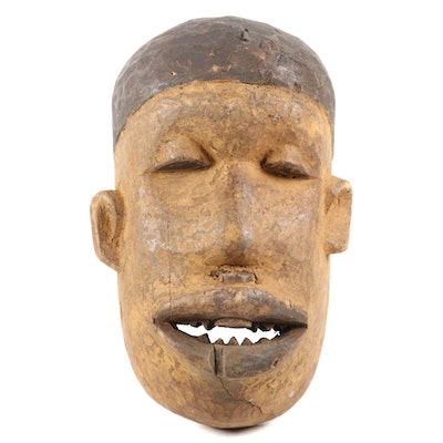 Makonde Style Wooden Mask, Southeast Africa