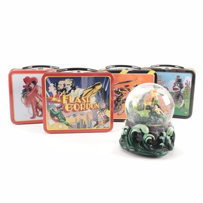"Dark Horse Comics Inc. ""The Ring of the Nibelung"" Water Globe and Lunchboxes"