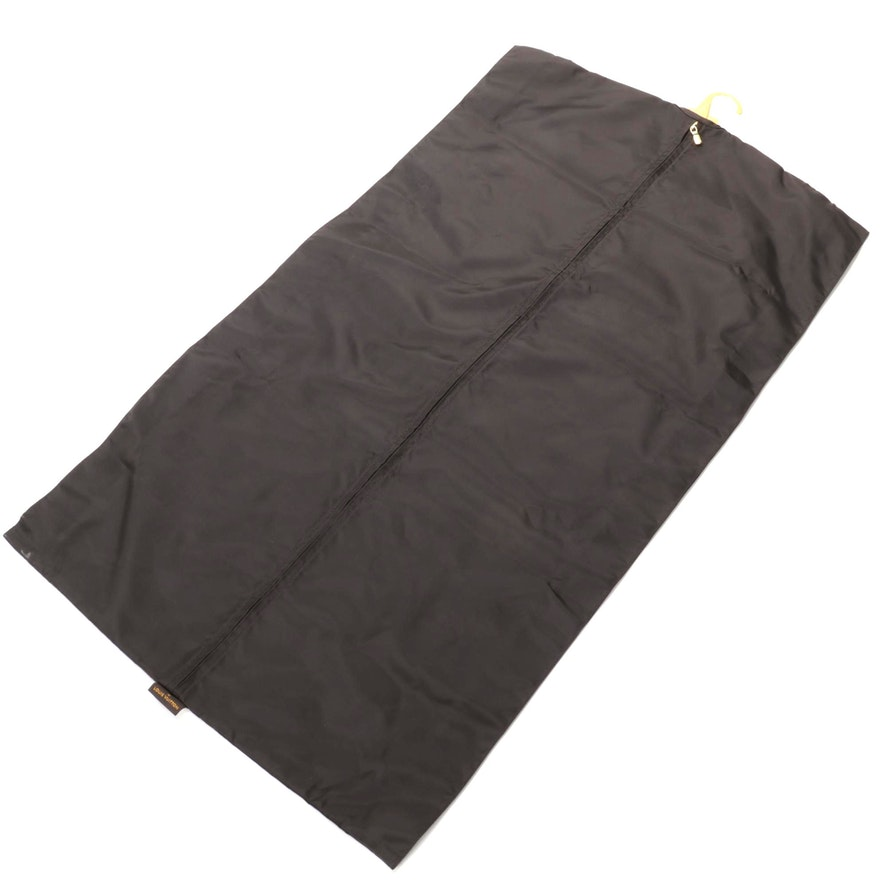 Louis Vuitton Pegas Garment Bag Insert in Brown Nylon with Travel Hanger