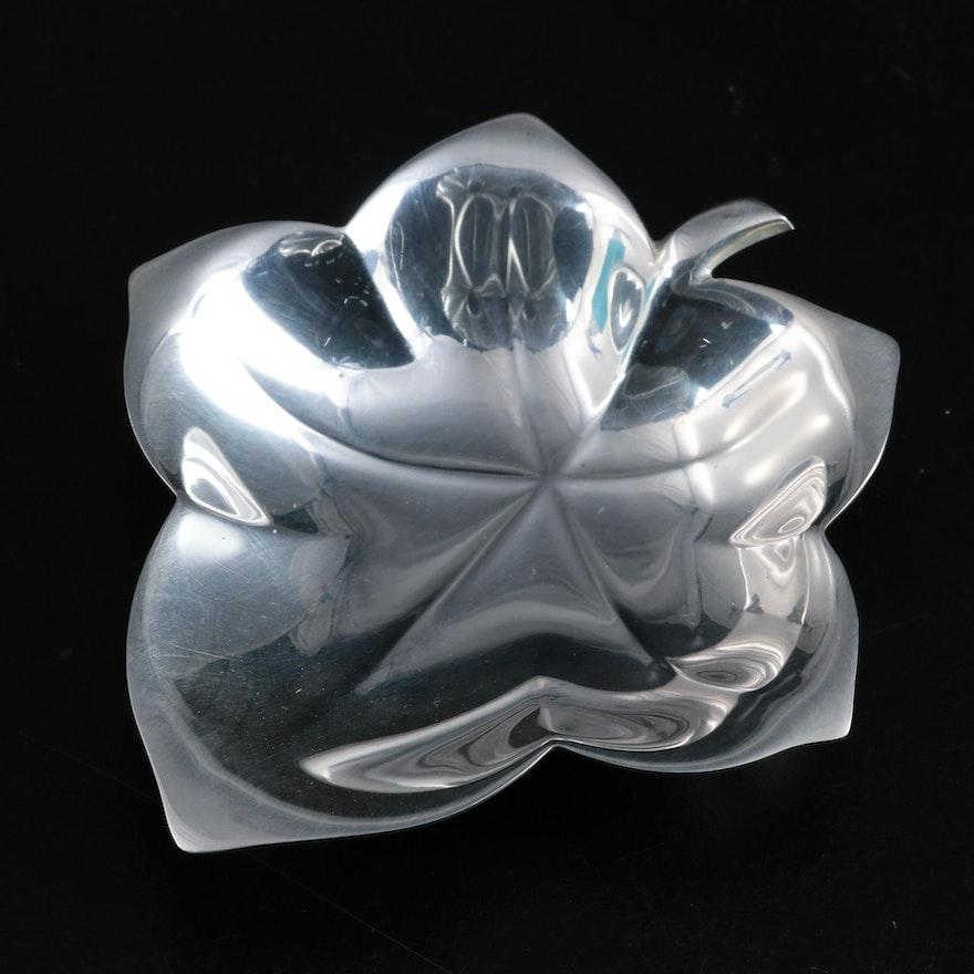 Tiffany & Co. Sterling Silver Leaf Dish, 1947–1956