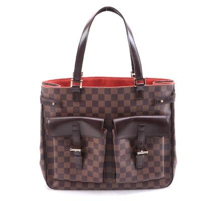 Louis Vuitton Uzes Tote Bag in Damier Canvas