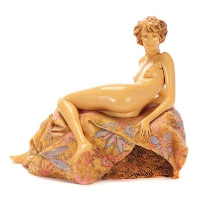 """Frank Gallo Resin Sculpture """"Awakening Beauty"""""""