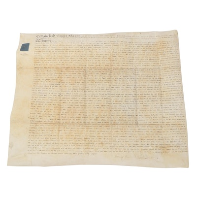 English 1825 Wakefield Court Baron Loan Agreement