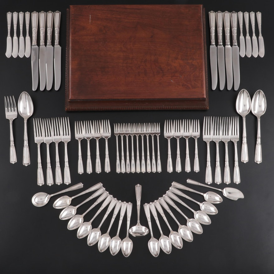 "Wallace ""Renaissance"" Sterling Silver Flatware and Serving Utensils, 1925–1965"