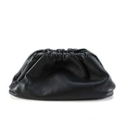 Bottega Veneta The Pouch 20 in Black Butter Calf Leather