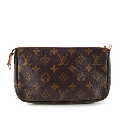 Louis Vuitton Accessories Pochette In Monogram Canvas
