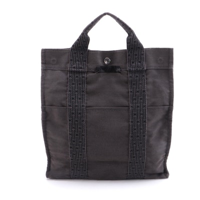 Hermès Her Line Gray Two-Way Tote/Backpack