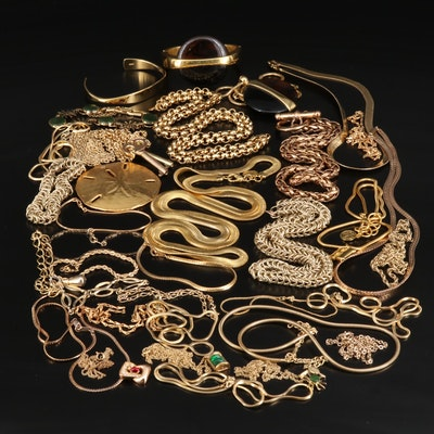 Costume Jewelry Featuring Trifari and Krementz