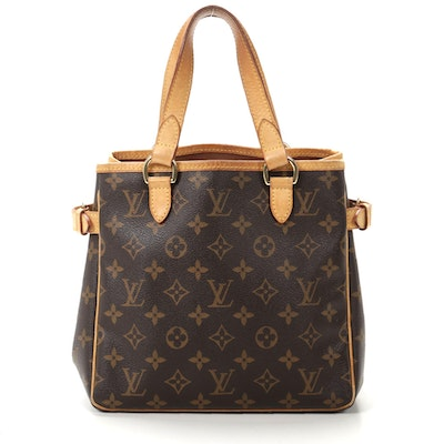 Louis Vuitton Batignolles Horizontal Shoulder Tote in Monogram Canvas