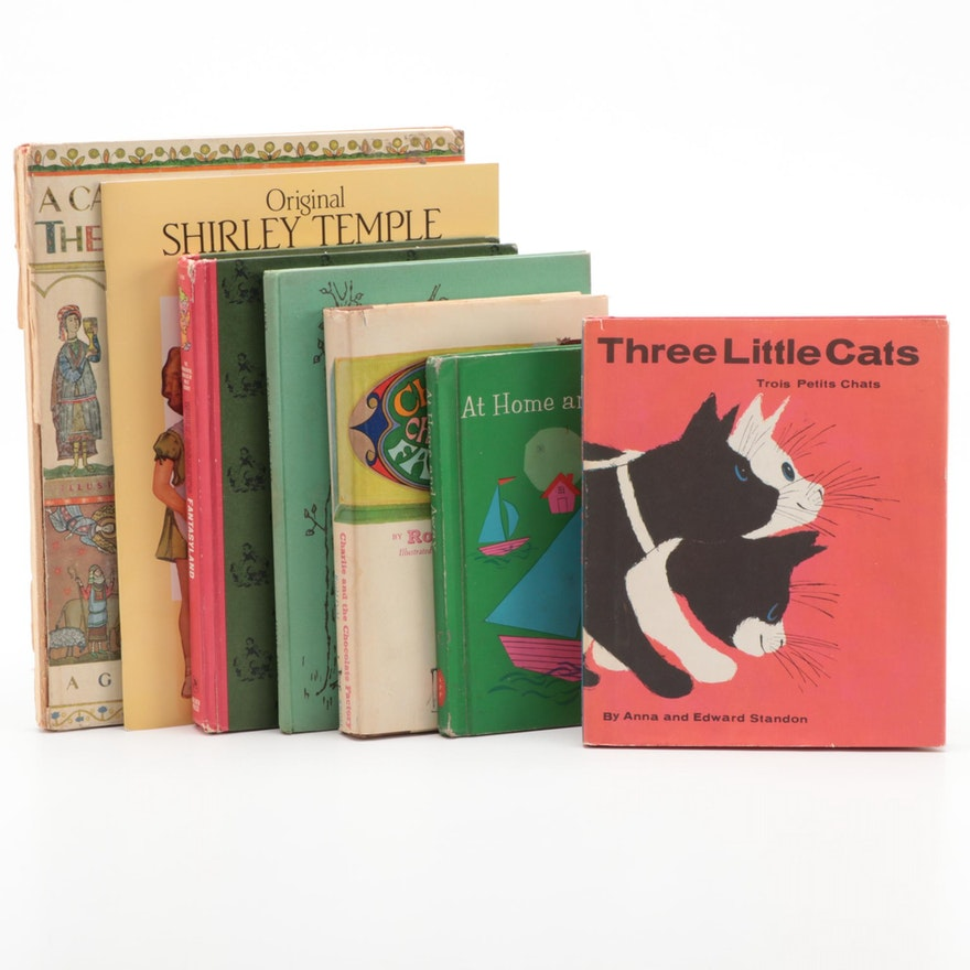 """First American Edition""""Three Little Cats"""" and More Children's Books"""