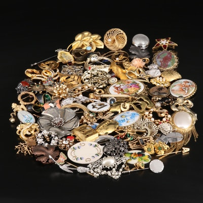 Antique and Vintage Jewelry Featuring Swarovski and Krementz