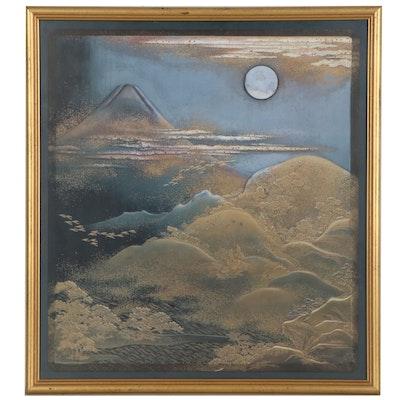 Nocturne Landscape Offset Lithograph