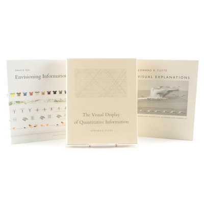 Edward R. Tufte Books on Visualization of Quantitative Information and Design