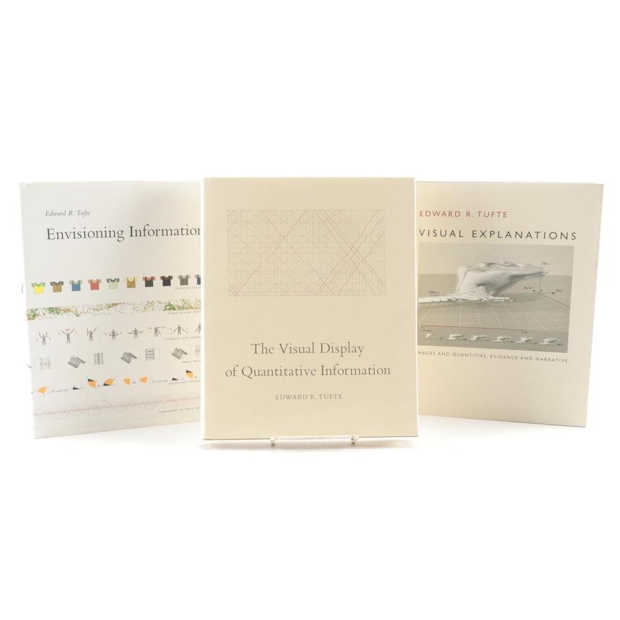 Edward R. Tufte Books on Visualization of Quantitative Information and Design