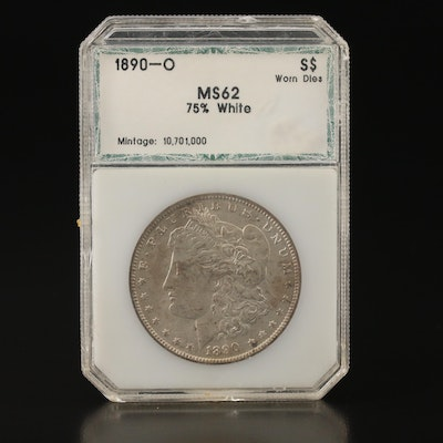 Better Date 1890-O Morgan Silver Dollar