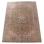 9'2 x 13'0 Hand-Knotted Persian Tabriz Wool Room Sized Rug