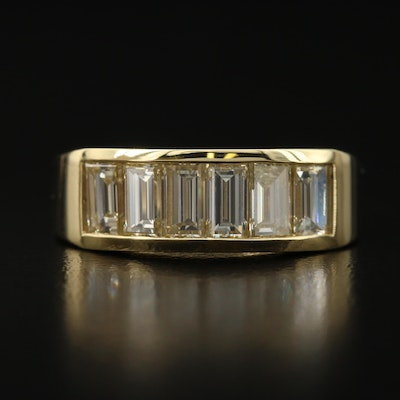 18K 2.00 CTW Diamond Band