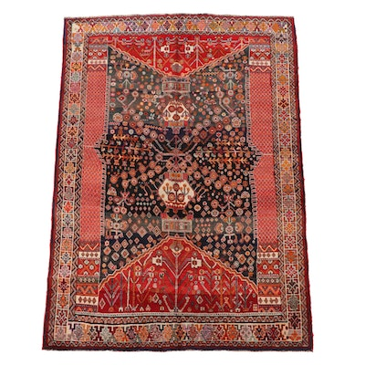 5'5 x 8'1 Hand-Knotted Northwest Persian Wool Area Rug