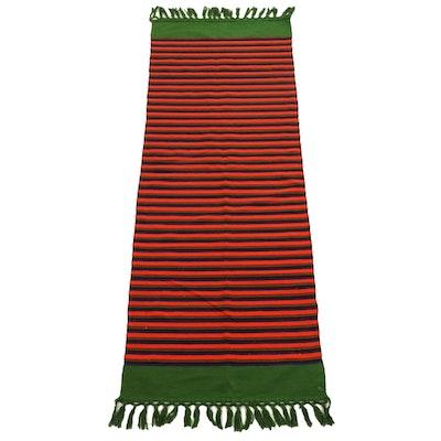 2'3 x 7'3 Handwoven Kilim Wool Runner