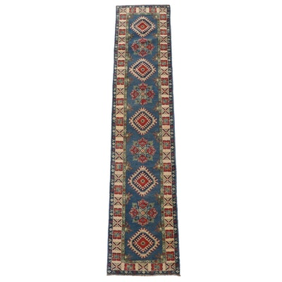2'0 x 9'3 Hand-Knotted Caucasian Kazak Wool Carpet Runner