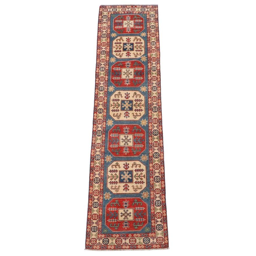 2'8 x 10'4 Hand-Knotted Turkish Anatolian Carpet Runner