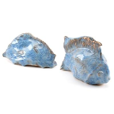 Earthenware Fish Figurine